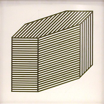 'Isometric_Projection_-13',_ink_and_pencil_drawing_on_paper_by_--Sol_LeWitt--,_1981